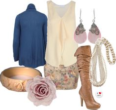 """""""The Smell of Roses"""" by clothingcoop ❤ liked on Polyvore"""