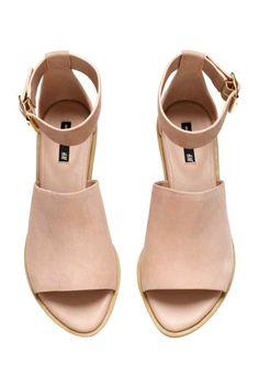 Sandalias de piel | H&M
