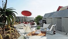 Hotel Lautner: Each suite opens onto its own private patio.
