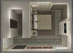 25 New Ideas For Closet Pequeno Planta Bedroom Closet Design, Bedroom Wardrobe, Closet Designs, Home Bedroom, Bedroom Decor, Master Bedrooms, Bedroom Storage, Closet Behind Bed, Walk In Closet