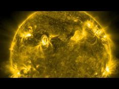 ... beautiful and haunting footage of the sun from 2011