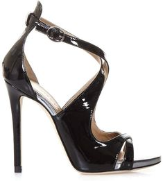 Shop Marc Ellis Black Patent Leather Sandals and save up to EXPRESS international shipping! Women's Shoes Sandals, Leather Sandals, Heels, Heeled Sandals, Crazy Shoes, Metal Buckles, Black Patent Leather, Open Toe, Ankle Strap