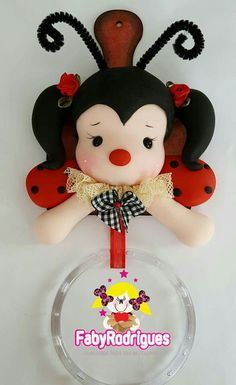 Pasta Flexible, Cold Porcelain, Clay Creations, Clay Art, Diy And Crafts, Minnie Mouse, Polymer Clay, Baby Shower, Christmas Ornaments