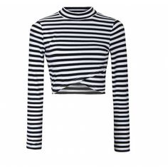 f4d9cc1f404 Autumn Lady Crop Top Full Sleeve Striped T shirt Tops Eliacher Brand Plus  Size Women Clothing Chic Knitting Tees T-Shirts 6508
