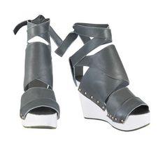 Schuhe und Mode aus Rhabarberleder. Deepmello