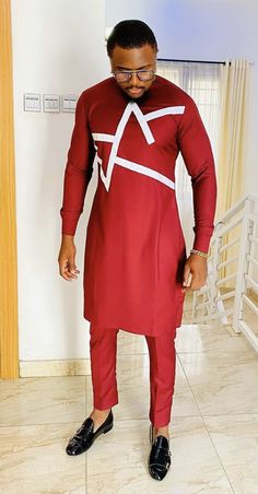 African Dresses Men, African Attire For Men, African Clothing For Men, African Shirts, African Wear, Nigerian Men Fashion, African Print Fashion, Mens Fashion, Native Wears