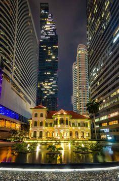 Thailand Destinations, Bangkok, Mansions, House Styles, Home, Decor, Decoration, House, Villas
