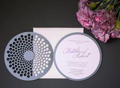 Laser cut wedding Invitations by NinahCoutureInvites on Etsy
