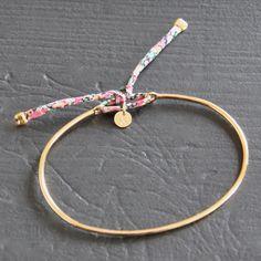 Image of Bracelet Jonc Plaqué Or • LIBRA1PO/AF