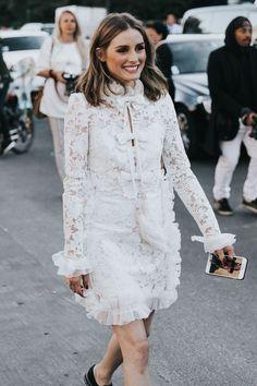 white long sleeve dress for summer