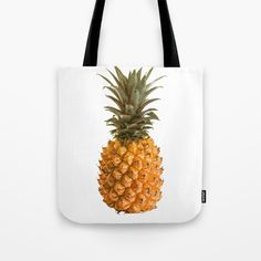 Pineapple Tote Bag by painting Quick Dry, White Cotton, Towels, Print Design, Pineapple, Reusable Tote Bags, Bath, Sun, Printed