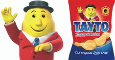 Tayto Crisps Tayto is more than a crisp; in Ireland, it's a cultural phenomenon. How many confectionery brands in the world have inspired a book ('The Man Inside the Jacket'), or their very own theme park? Social Media Search Engine, Digital Web, Creative Company, Dublin Ireland, Let Them Talk, Confectionery, Company Names, Crisp, Digital Marketing