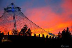 #Spokane - Sundown makes everything look good. No matter what!