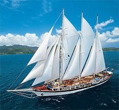 "Sailing Ship Adventures: Sailing Vacations and Tall Ship Cruises  Rum Swizzles, Raising the sails to ""Amazing Grace"", PPP parties!  She's refurbished and setting sail again!   And I will be on her soon!"