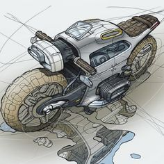 56 ideas bike drawing sketches products for 2019 Futuristic Motorcycle, Motorcycle Art, Futuristic Cars, Bike Sketch, Car Sketch, Bike Drawing, Drawing Sketches, Drawings, Motorbike Design
