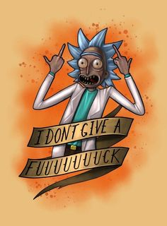【 Me neither, Rick。Me neither。❤︎】