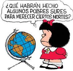 Enorme Mafalda! Como siempre!