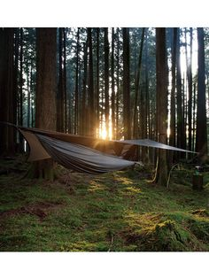 HENNESSY HAMMOCK, tent and hammock all in one.