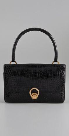 08700e60a4ac WGACA Vintage Vintage Hermes Crocodile Bag - StyleSays Kelly Bag