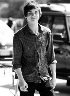 Logan Lerman, your gorgeousness makes me want to cry!