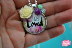 I Am Loved Necklace by Miss Whimsy Designs