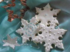Royal Icing Snowflakes