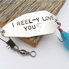 I Reel-Y Love You Fishing Lure
