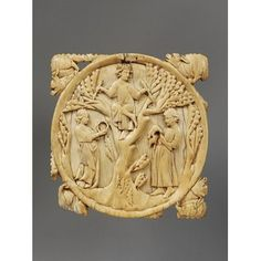 Mirror case - the God of Love and a Couple