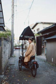 """q i i i d — ร้าน""""เค้ก""""รถเข็นถีบ ที่ประสบความสำเร็จมากๆในญี่ปุ่น"""