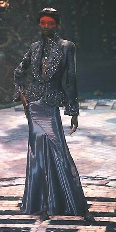 1998-99 - Alexander McQueen for Givenchy Couture show  - Debra Shaw