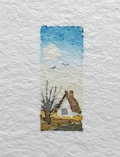 coolbodyart watercolor miniature aquarelle landscape painting artist sketch house small hviid mini doll ilse etsy Miniature watercolor body sketch painting doll house painting mini watercolor small art small You can find Aquarelle and more on our website Sketch Painting, Watercolor Sketch, Watercolor Cards, Watercolor Flowers, Watercolor Ideas, Watercolor Landscape Paintings, Landscape Drawings, Landscape Sketch, Landscapes To Paint
