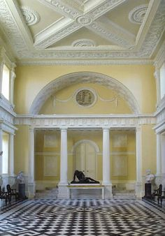 The Devoted Classicist: John Fowler's Paint Scheme At Syon House...  From...  http://tdclassicist.blogspot.com/2012/02/john-fowlers-paint-scheme-at-syon-house.html#