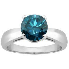 1.10 Ct Round Blue SI1/SI2 Diamond 14... $1,862.99