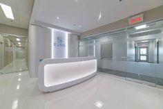 Aménagement intérieur de la clinique ELNA à St-Mathieu-de-Beloeil Elna, Construction, Bathtub, Bathroom, Projects, Building, Standing Bath, Washroom, Bath Tub