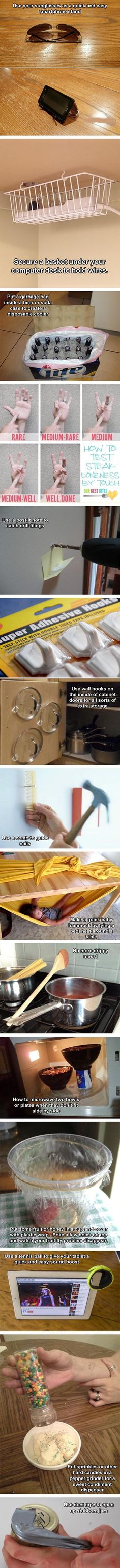 Super Crazy Everyday Life Hacks You Never Thought Of House - 20 life hacks really shouldnt try