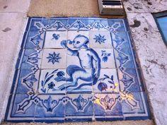 Azulejos in Lisbon Portugal
