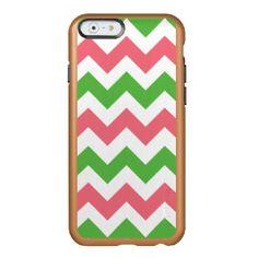 Green Shamrock Pattern iPhone 6 Case Incipio Feather® Shine iPhone 6 Case
