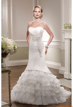 Buy Wedding Dress Ronald Joyce 67064 2014 at cheap price Classic Bridesmaids Dresses, Camo Wedding Dresses, Simple Bridesmaid Dresses, Inexpensive Wedding Dresses, Wedding Dress Organza, Elegant Wedding Gowns, Lace Homecoming Dresses, Amazing Wedding Dress, Wedding Dress Styles