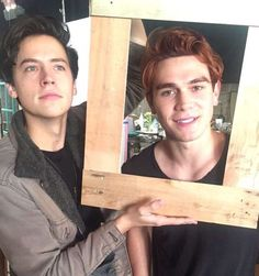 Cole Sprouse and KJ Apa Riverdale Kj Apa Riverdale, Riverdale Merch, Riverdale Cast, Riverdale Betty, James Fitzgerald, Cole Sprouse Jughead, Zack E Cody, The Last Summer, The Ancient Magus Bride