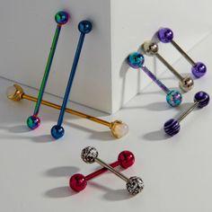 Barbell Piercings  Industrial Barbells   Barbell Jewelry 39a8aca008e6