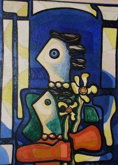 Painting by Amelia Peláez (1896-1968)
