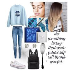 Blue outfit#nasa#chill#stayyourself#normal