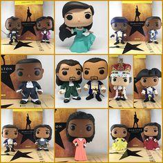 Hamilton: An American Musical Funko POP Vinyl Customized Hamilton Fanart, Alexander Hamilton, Hamilton Peggy, Funny Hamilton, Hamilton Gifts, Custom Funko Pop, Funko Pop Vinyl, Musical Hamilton, Hamilton Broadway