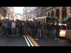 Corteo ultras serbi a Genova, ottobre 2010