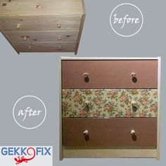 This design gives a romantic twist to your home. Get inspired & get creative! #DIY #Romantic #Gekkofix