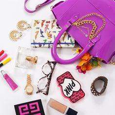 Cabe muita coisa na mini tote bag!  Conheça outros modelos e outras cores no verão 2015 da Petite Jolie: www.petitejolie.com.br