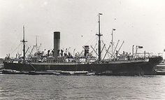 The 1st Battalion of the Loyal North Lancashire Regiment sailed to France on the newly built S.S Agapenor on 12 August 1914.  They embarked at Southampton, but having started to cross over they ran into another ship on the Solent, giving her 'a nasty bash'. One man was injured. That night they continued their crossing to La Havre. #ww1