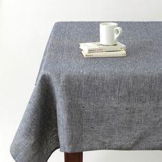 Tablecloth: Linen Denim