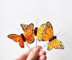 butterfly bobby pin