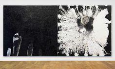 ian mckeever artist | Ian McKeever - Diptych; Aa II, 1988 - 1989